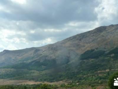Mondalindo - Mina de plata del Indiano; circo gredos mochila de trekking